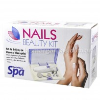 Set de Belleza de Manos y Pies a pilas Nails Beauty Kit TeknikPro Spa