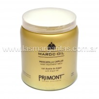 Mascara Capilar Maroc Oil con Aceite de Argan x 1000ml. Primont