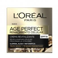 Crema de Día Revitalizante x50 ml Age Perfect Loreal Paris