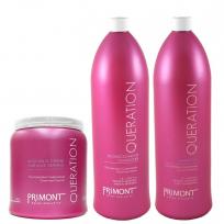 SUPER RECOMENDABLE!! Shampoo x 1800 ml + Acondicionador x 1800 ml + Mascara x 1000 ml Queration Primont