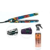 Plancha Mini TeknikPro + Spray Leave In Care Marula