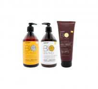 Shampoo Acondicionador Máscara Matcha Bio Balance Primont