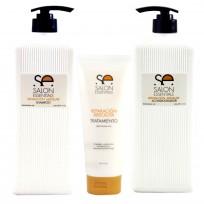 Shampoo Reparación Absoluta x1500 ml + Acondicionador Reparación Absoluta x 1500 ml + Tratamiento Reparación Absoluta x237 ml