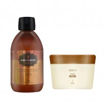 Shampoo Sin Sulfatos x300ml Kin + Máscara Nutri x200ml Kin Linea Española