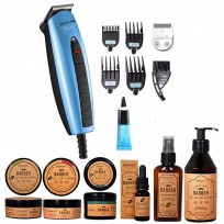 Mini Clipper Big Shot Babyliss + Set Barber Novelty Primont