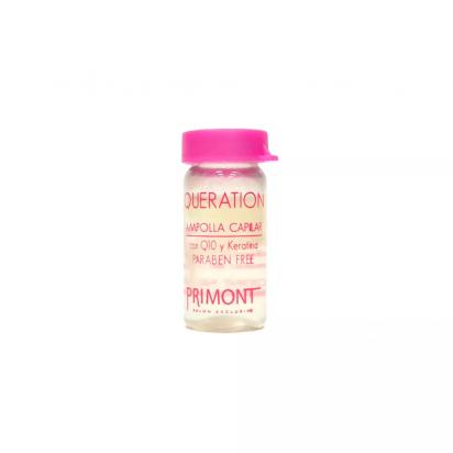 Ampolla Capilar Con Q10 y Keratina x10ml Queration Primont