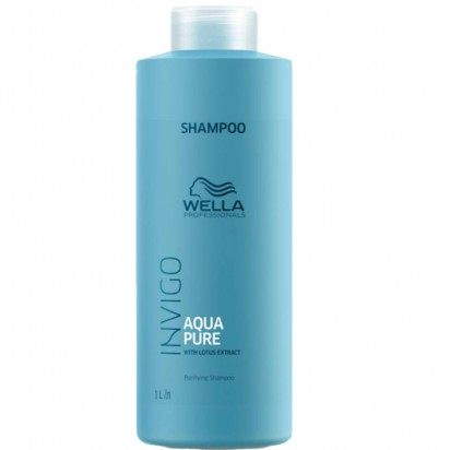 Shampoo x1000ml Aqua Pure Invigo Wella