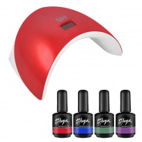 Combo Cabina Soft Touch + 4 Esmaltes On Off