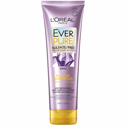 Shampoo Ever Pure Blonde x 250ml Loreal
