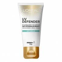 Crema Facial UV Defender Anti Brillo Loreal Paris