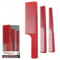 Set 3 Peines Barberology Babyliss