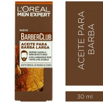 Aceite Para Barba Larga Loreal Men Expert Barber Club X30 Ml