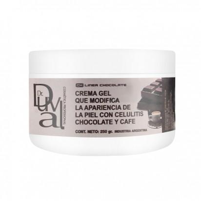 Crema Gel  Chocolate y Cafe  x 250