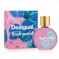 Perfume para Dama Fresh World x 50ml Desigual