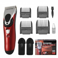 Máquina de Corte Recargable 2 baterías Advanced Power Red Titanium Technology Teknikpro
