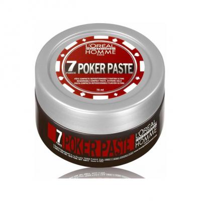 Pasta Compacta x 75ml Poker Paste Homme Loreal