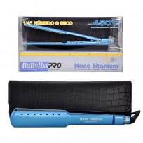 Plancha Wet Dry Nano Titanium con estuche Babyliss Pro 2073