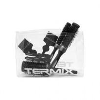 Kit 3 Cepillos Térmicos + Accesorios Exclusive Termix