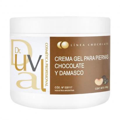 Crema Gel Para Piernas Con Chocolate y Damasco x 500g