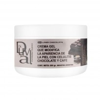 Crema Gel  Chocolate y Cafe  x 250