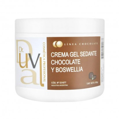 Crema Gel Sedante Chocolate y Boswellia x500g